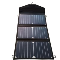 China Folding Portable Solar Panel to Charge Battery Solar Charger 120W