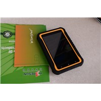 Waterproof 7 inch android 3G Fingerprint Sensor RFID tablet PDA