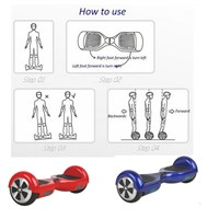 smart electric self balancing scooter 2 wheels electrical hands free