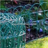 PVC  Coated Gardon Wire Mesh Fence