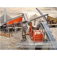 Whole Set High Capacity Granite Stone Crushing Plant