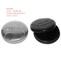 round shape aluminum tin box