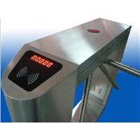 Semi-automatic Electronic Type Tripod Turnstile with LED Electronic Counter