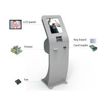 Self-help  Service Kiosk , RFID / NFC Card Payment Bar Code Reader Terminal