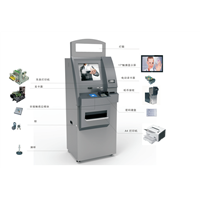 self-service information kiosk/ carder reader/tickets printer kiosks