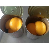 canned yellow pach half in lt syrup