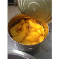 canned yellow peach sliced in lt syrup