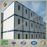 Low Cost /Mobile/Prefab/Prefabricated Steel House for Private Living