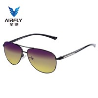 Fashion Night-Vision Glasses OEM Manufacture Anti Glare Aviator Drive Glasses A1001