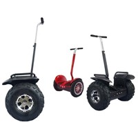 Black color Night vision Smart TwoWheels Off-road Golf Cart Dune buggy Electriic Cart