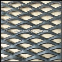 expandable sheet metal diamond mesh