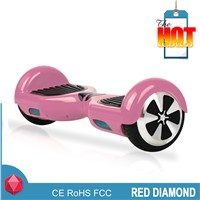 2015 Hot Christmas gift  hands free two wheel pink electric smart balance scooter with bluetooth