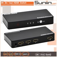 4K HDMI Switch 3x1