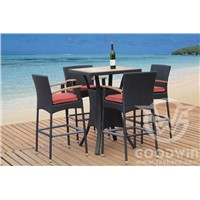 GW3061 set C garden outdoor furniture bar set