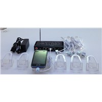 Multi-Ports Security Display System for Smart Phones,multiple ports security display stand