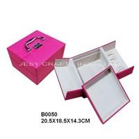 Handled cosmetic box(B0050)