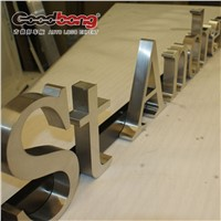 backlit solid led steel channel acrylic signs