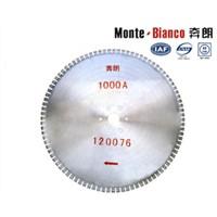 diamond cutting saw blade for electrocast corundum cutting disc Monte-Bianco circular blades