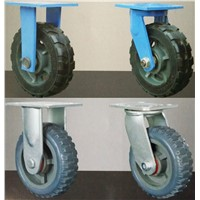 1200kgs loading pneumatic wheel