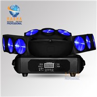 Chaos Three Heads 9*12W 4in1 RGBW LED Spider Light,Triangle DMX512 Pixel LED Spider Beam For