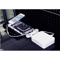 Multi-Ports Security Retail Display System,Multiple Ports Alarm Display Stand for iPhone