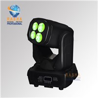 Rasha New Arrival 4pcs*25W 4in1 RGBW LED Moving Head Beam Light For Disco Event Party