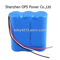 18650 7500mah 3.7v lithium ion battery pack for dewalt tool