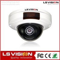 LS VISION 2015 New 32g sd card recording Mini Dome ip camera Super WDR