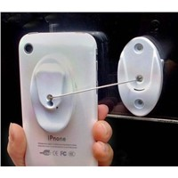 Mobile Phone Magnetic Secure Display Holder with Recoil Box,coiled security system