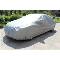 PEVA+PP COTTON CAR COVER ANTI SUNLIGHT-BAD WEATHER PROTECTION