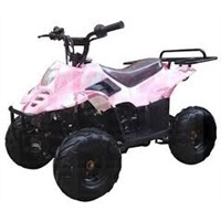 FULL SIZE 150cc ATV Automatic with Reverse, Hand Guards, Beautiful Black Wheels (ATV-150G) 300usd