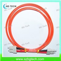 SC-SC 50/125 MM Duplex Fiber Optic Patch Cord