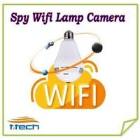 Hidden Spy Wifi IP Camera Hidden Bulb Lamp Camera WiFi P2P IP DVR  fisheye ip camera