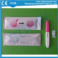 Easy operate rapid home urine pregnancy test midstream
