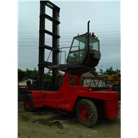 used Kalmar empty container truck