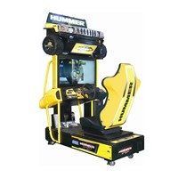 2016 new game machine manufacture of hummer car driving video racing machine