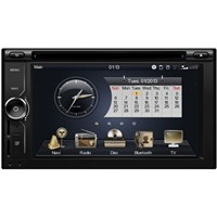 double din 6.2 inch car dvd player