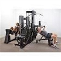 Vectra - VX48 Multi Gym (Black Frame/Black Upholstery)