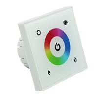Wall mounted Touch Panel RGB Controller SC-TM08E-WT12~24V 4A*3CH