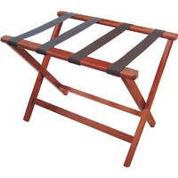 wooden and metal Luggage Rack