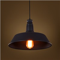 Contemporary black/white pendant light home/hotel decorative vintage pendant light