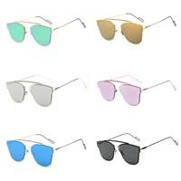 brand inspired women fashion sunglasses designer mirrored sun glasses gafas lentes de sol mujeres