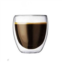 Double-wall Glass Cup Different Size for Selecting