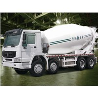 12M3 HW76 Cab HOWO 371Hp 8x4 Concrete Mixer Truck