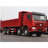 Heavy Duty HOWO 8x4 HW76 Cab Dump Truck