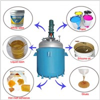 500L Chemical glue mixing reactor with tank agitator