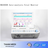 MD2000B Auto Analysis Fetal Monitor Manufacture With A Workstation
