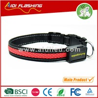 C315 LED light up dog collar