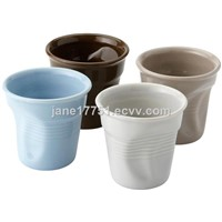 ceramic 8oz coffee mugs/ice cream cups