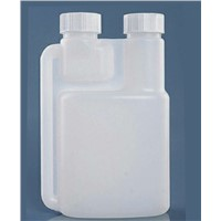 100ml,200ml,300ml,500ml HDPE plastic dosing bottle double neck twin neck bottle